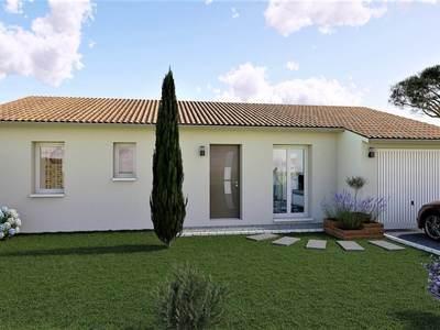 Maison neuve, 90 m² - Juillan (65290)