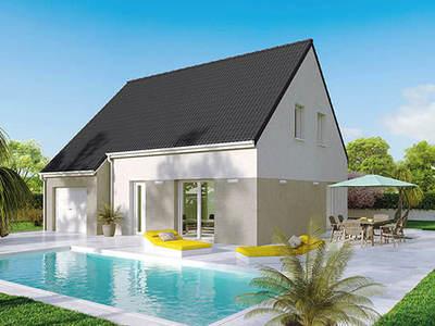 Maison neuve, 105 m² - Chagny (71150)