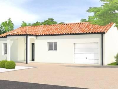 Maison neuve, 136 m² - Lairoux (85400)