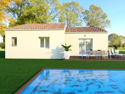 Maison neuve, 100 m² - Charols (26450)