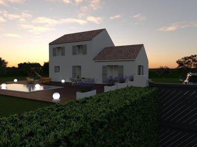 Maison neuve, 130 m² - Eguilles (13510)
