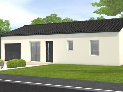 Maison neuve, 79 m² - Lairoux (85400)