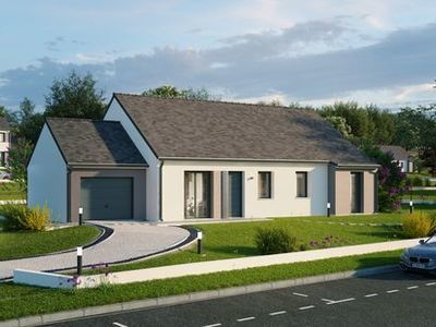 Maison neuve, 87,94 m² - Levroux (36110)