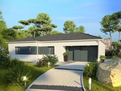 Maison neuve, 98 m² - Evreux (27000)