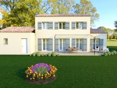 Maison neuve, 103 m² - Tresques (30330)