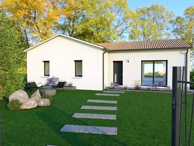 Maison neuve, 70 m² - Saint-Pierre-d'Eyraud (24130)
