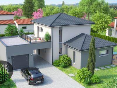 Maison neuve, 121 m² - Creuzier-le-Vieux (03300)