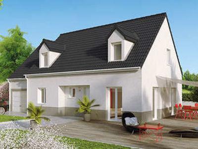 Maison neuve, 109 m² - Châtenoy-en-Bresse (71380)