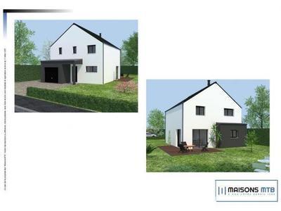 Maison neuve, 107 m² - Plancoët (22130)