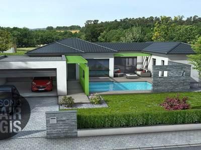 Maison neuve, 115 m² - Néris-les-Bains (03310)