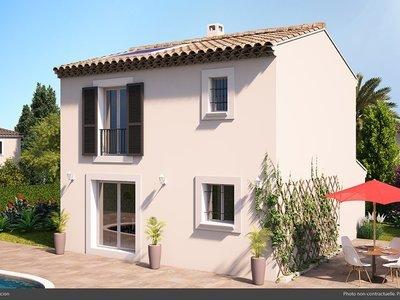Maison neuve, 75 m² - Meyrargues (13650)