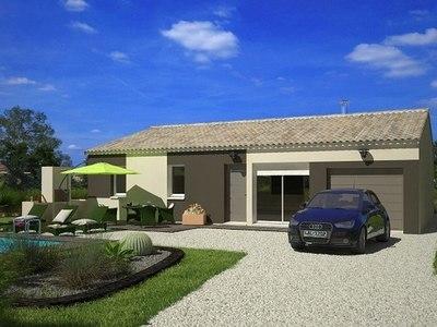 Maison neuve, 76 m² - Salles-d'Aude (11110)