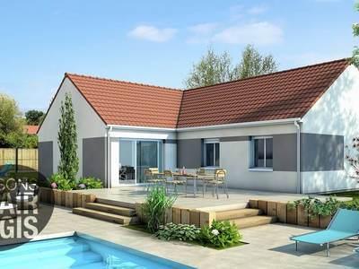 Maison neuve, 100 m² - Mariol (03270)