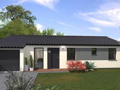 Maison neuve, 99 m² - La Coucourde (26740)