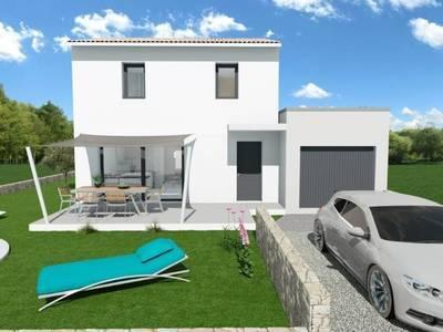 Maison neuve, 100 m² - Tresques (30330)