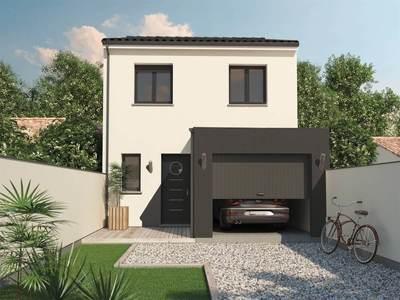 Maison neuve, 102 m² - Mauzé-sur-le-Mignon (79210)