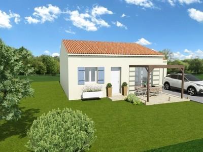 Maison neuve, 60 m² - Bagnols-sur-Cèze (30200)