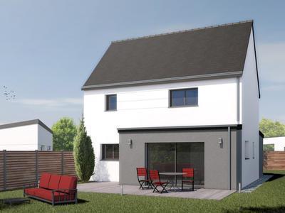 Maison neuve, 108 m² - Saint-Lormel (22130)