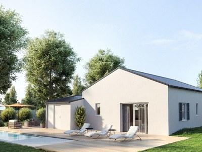 Maison neuve, 65 m² - Marennes (17320)