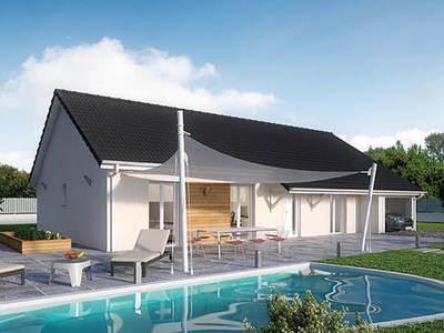 Maison neuve, 100 m² - Chagny (71150)