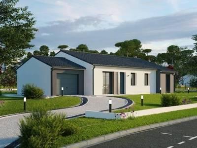 Maison neuve, 119 m² - Charron (17230)