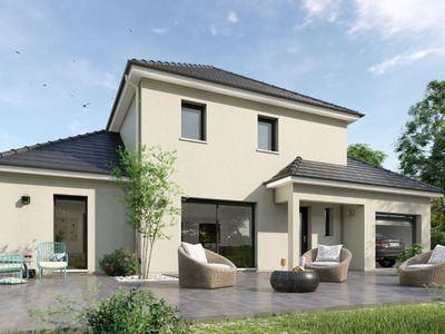 Maison neuve, 105 m² - Bû (28410)