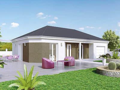Maison neuve, 95 m² - Saint-Léger-sur-Dheune (71510)