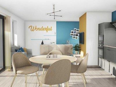 Appartement neuf, 44 m²