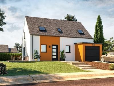 Maison neuve, 99 m² - Brest (29200)