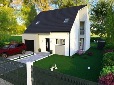 Maison neuve, 88,71 m²