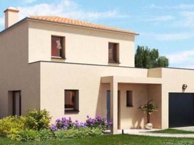 Maison neuve, 98 m² - Bouguenais (44340)