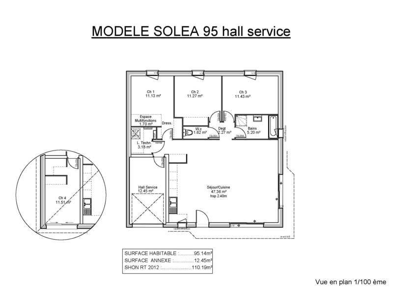 demeures de la c te d 39 argent bergerac maisons de 4 pi ces 136000 superimmoneuf. Black Bedroom Furniture Sets. Home Design Ideas