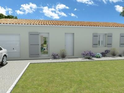 Maison neuve, 105 m² - Breuillet (17920)