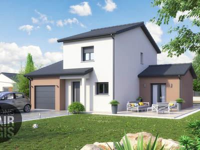 Maison neuve, 107 m² - Le Breuil (03120)