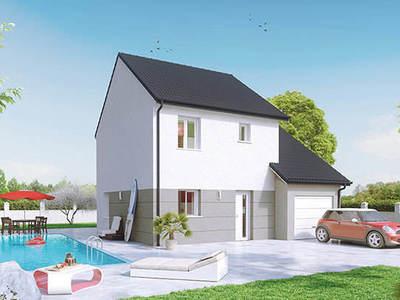 Maison neuve, 75 m² - Virey-le-Grand (71530)
