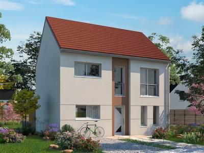 Maison neuve, 117,64 m²