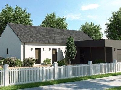 Maison neuve - Montigny-aux-Amognes (58130)