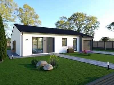 Maison neuve, 104 m² - Charron (17230)