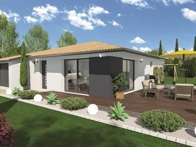 Maison neuve, 93 m² - Aurensan (65390)