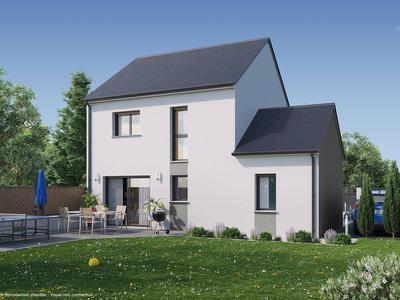 Maison neuve, 98 m² - Mulsanne (72230)
