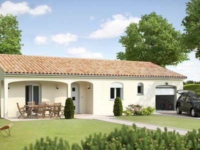 Maison neuve, 74 m² - Niort (79000)
