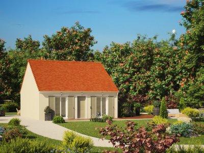 Maison neuve, 56 m²