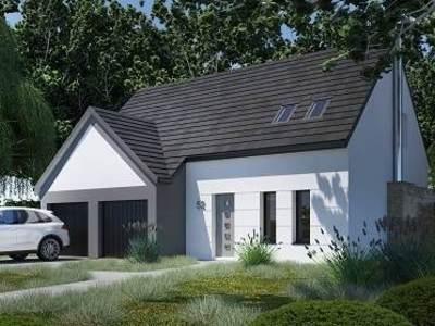 Maison neuve, 102,22 m² - Val-de-Reuil (27100)