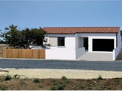 Maison neuve, 92 m² - Vaux-sur-Mer (17640)