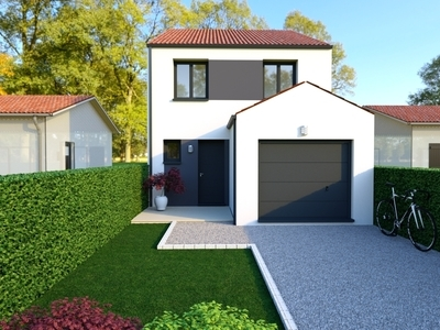 Maison neuve, 105 m² - Bouguenais (44340)