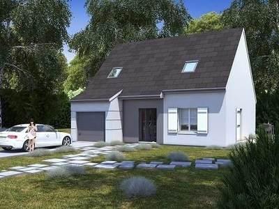 Maison neuve, 98,08 m²