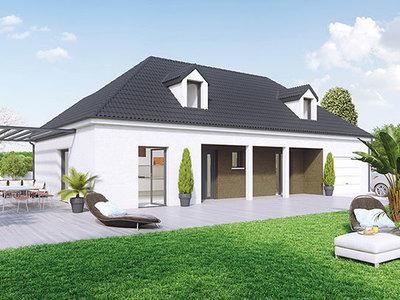 Maison neuve, 130 m² - Chagny (71150)