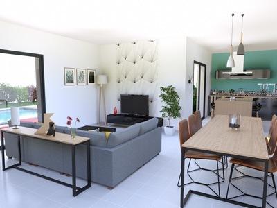 Maison neuve, 101 m² - Breuillet (17920)