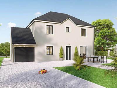 Maison neuve, 90 m² - Crissey (71530)