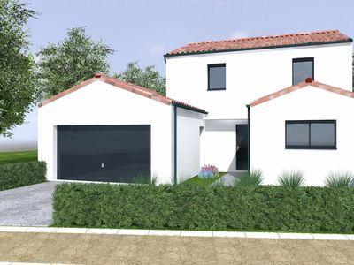 Maison neuve, 130 m² - Nantes (44000)